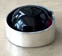Cabochon Ring in Bearbeitung