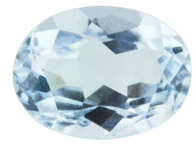 Aquamarin,-Oval,-8 x 6 mm