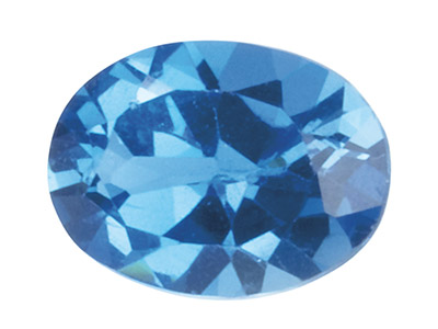 London-Blue-Topas,-Oval,-8 x 6 mm,-Be...