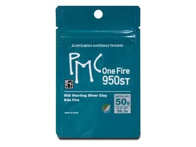 Precious Metal Clay Onefire Sterlingsilber 56,3g Pmc