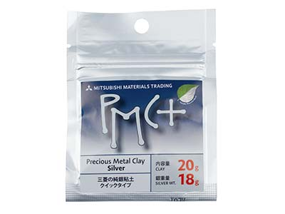 Silberknete precious Metal Clay Pmc Plus, 20g