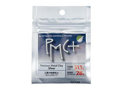 Silberknete precious Metal Clay Pmc Plus, 31,1g,