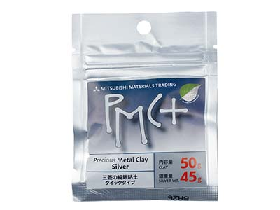 Silberknete precious Metal Clay Pmc Plus, 50g