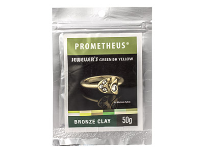 Prom Jewellers Greenish Yellow Bronze Clay 50g