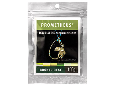 Prom Jewellers Greenish Yellow Bronze Clay 100g