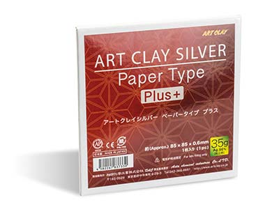Art Clay-papier Typ Plus 35g 85x85mm