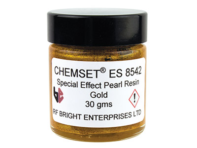 Perlmutt Epoxidemaille, Un3082, 30-g-paste, Goldfarben