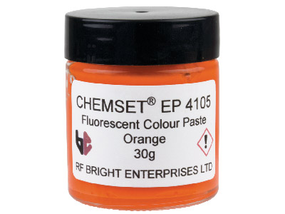 Neonfarbene Epoxidemaille, Un3082, 30-g-paste, Orange