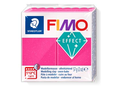 Fimoeffect 57gblock Edelsteinfarbe Rubinquarz Fimo Farbe Nr. 286