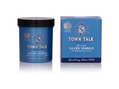Town Talk Silver Sparkle Dip, 225ml