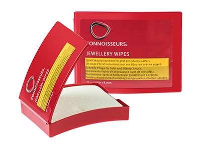 Connoisseurs Jewellery Wipes, Poliertücher, 25er-pack