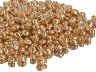 Fairtrade-gold-granulat, 9 Kt Rotgold, Rsc