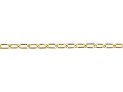 Gliederkette, 14kt Goldfilled, Mittelgro, 1,7x2,8mm, Lose