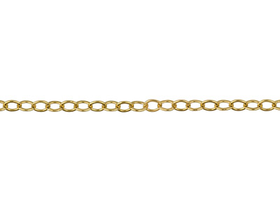 Ankerkette 14kt Goldfilled Flach Oval 17x23mm Lose